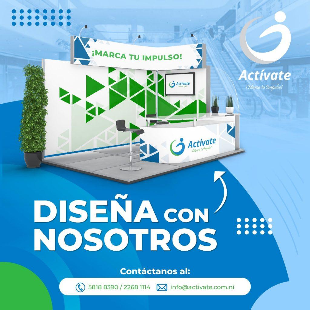 Diseño de Stands para eventos profesionales en Nicaragua